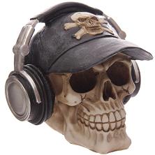c98abb675ff9ef LED Totenkopf Skull Totenschädel inkl. 4 Batterien Coole Deko gothic ...